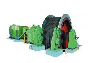 China 1.85m 155KN Hydraulic Winch Machine For Coal Mines wholesale
