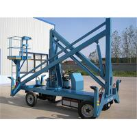 China Electric Powered Hydraulic Boom Lift Articulating Type 6 - 16 M GTZ-10.5 on sale