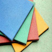 China Henan hot-sale recycled no-pollution school playground rubber floor mat for sale wholesale