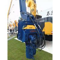 China Highly Efficient Hydraulic Pile Driver , Vibratory Hammer Pile Driver 3200RPM wholesale