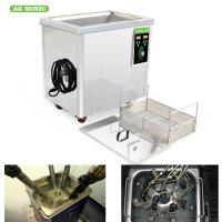 China SUS 304 40KHz Material Industrial Ultrasonic Cleaner 60L For Heavy Grease Oil on sale