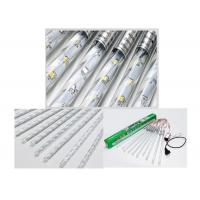 China 10 Tubes LED Meteor Lights , 30cm Helicine Meteor Shower Christmas Tree Lights wholesale
