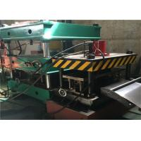 China Warehouse Storage Rack Roll Forming Machine , 21.5kw Roll Former Machine Cr12 Roller wholesale