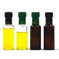 Buy cheap 100ml Small Tea Color Glass Peanut Oil Bottle With 5 Days Delivery Time from wholesalers
