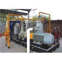 China Water Injected Nature / Flammable Gas Screw Compressor ,Suction pressure 0.25 MPa, Discharge Pressure 1.0 MPa wholesale