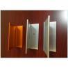 China Wood Grain Aluminum Railing Profiles , Engineering Aluminium Profile For Kitchen Cabinets wholesale