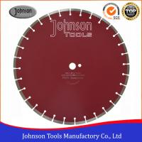 "Buy cheap 450mm Laser Welded Diamond Concrete Saw Blades, Key Slot, 1""/22.23mm center hole from wholesalers"