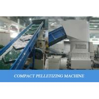 China pe pp compacting agglomerating for plastic PP PE HDPE LDPE,Plastic recycling machine wholesale