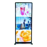 "China Shelf Standing 70"" 1920x540 Digital Poster Led Display wholesale"