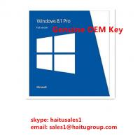 Buy cheap Original Windows 8 Product Activation Key , Windows 8.1 Professional OEM Single from wholesalers