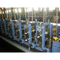 China Galvanzied Steel Tube Making Machine With High Frequency Welding wholesale