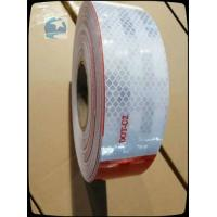 China Dot Approved Diamond Grade Reflective Tape For Cars 6 Inch Micro Prismatic Grade wholesale