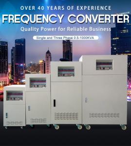 China BP 3 Phase Input Ac Frequency Converter 3 Phase Custom Output 50Hz 60Hz 400Hz wholesale