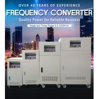 China Small Custom Electric Frequency Converter 3 Phase Input 3 Phase Output wholesale