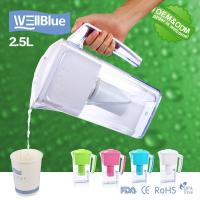 China Household Portable Alkaline Water Pitcher 2.5L With Activated Carbon filter wholesale