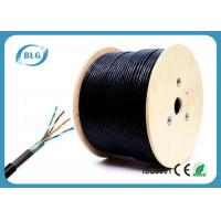 1000ft Shielded Cat5e Network Cable Outdoor CCA 24 AWG FTP Wire Solid Direct Burial UV