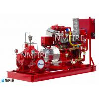 Buy cheap 2500GPM@145PSI, Ul Listed ,Diesel Engine  DRIVER ,Split casing Pump set with Jockey pump from wholesalers