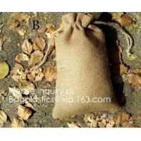 Buy cheap Rustic Gift Bag Bulk Pack - Wedding Party Favors, Jewelry and Treat Pouches,eco from wholesalers