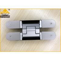 China Aluminium Alloy Wardrobe Door Hinges Spring Loaded Hinges Baking  Finish on sale