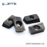China Precision Cnc Lathe Tool Inserts , Indexable Carbide Lathe Tools APMT1604PDER-H2 on sale