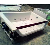China Hydrotherapy Bath Jacuzzi Whirlpool Bath Tub White With FREE Remote Control wholesale
