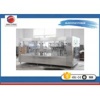 China Electric Small Soda Bottling Equipment , High Speed Drink Bottling Machine 12000BPH on sale