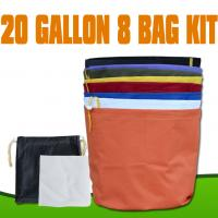 China 20 Gallon 8bags kit 600D Hash Bubble Bags with dry ice  wholesale