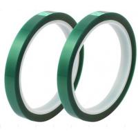 China Green PET Electrical Insulation Tape Use For Lithium Battery Terminal Tape wholesale