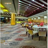 China Restaurant Fire Resistant Carpet 80% New Zealand Wool 20% Nylon wholesale