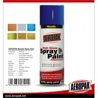 China Car Paint 400ml Tin Spray Paint  Metallic Color Spray Paint on sale
