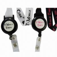 China Badge Reels Polyester/Promotional Neck Lanyard/ID Card Holder Strap Lanyard for Birthday Giveaways wholesale