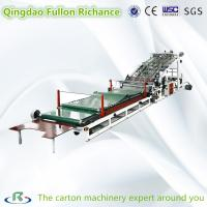 China High Speed Automatic Complete Corrugated Carton Box Laminating Machine on sale