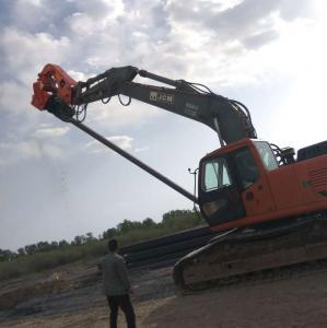 China BeiYI Steel Pipe Vibratory Pile Hammer High Frequency Vibratory Pile Hammer / Driver on sale