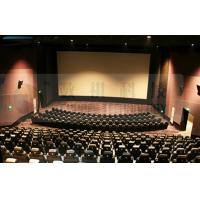 China Arc Screen 3D Movie Theaters Over Hundred Splendid Comfortable Chair wholesale
