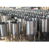 China 100L Custom Beer Conical Fermenter , Stainless Steel Fermentation Tanks wholesale