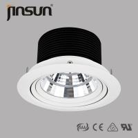 China 3000Lm high lumen 360 degree adjustable of 40W high power Bridgelux chip LED Cob downlight wholesale