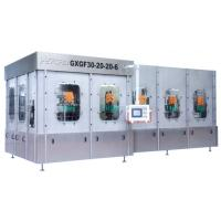 China Aseptic Pulp Juice Filling Machine for PET PVC PP or Glass Bottle 4 In 1 Unit wholesale