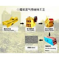 Buy cheap Construction Waste Crushing Technics from wholesalers