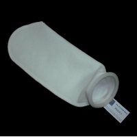 China Zinc Plated Top NMO Liquid Filter Bag 200u Micron For Water Filtration wholesale