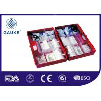 China Germany Standard First Aid Refills Kits DIN13157 With Plastic Box And Wall Bracket wholesale