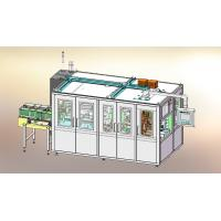 China Full Automatic Plastic Bag Paper Towel Packing Machine With 40 Bags Per Min wholesale