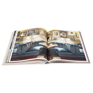 China Custom Coloring Photo Coffee Table Hardbound Book Printing CMYK Color wholesale