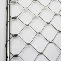 China 304/316L Stainless Steel Rope Mesh for Bridge Mesh Stair Protection Net on sale