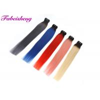 Buy cheap Straight Colored Human Hair Extensions Virgin Human Hair Weave from wholesalers