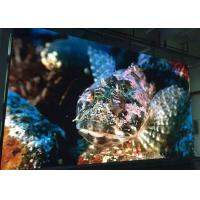 China 1/16 scan 4mm Video Wall Indoor Fixed LED Display panels Stainless Steel Cabinet wholesale