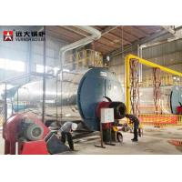 China Energy - Saving 15 Ton Gas Steam Boiler Fire Tube Design Automatic Running wholesale