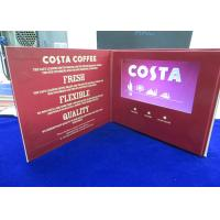 China VIF Free Sample Customized printing 7 inch lcd HD screen video brochure bult in 2GB memory for invitation,advertising wholesale