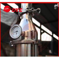 China DYE 70Kg Miniature Alcohol Home Distilling Machine 3mm Thickness wholesale