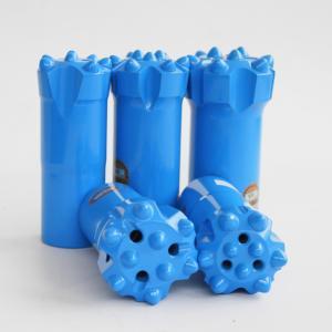 China Wear Resistance Rock Hammer Drill Bits / Hard Rock Drill Bits High Speed wholesale