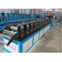 China Fire Damper Roller Shutter Door Roll Forming Machine 8-10m/min Hydraulic Type wholesale